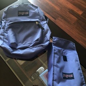 Jansport book bag and lunch bag